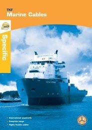 Marine Cables - TKD-KABEL | Продукция