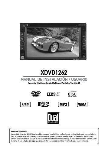 XDVD1262 - Dual Electronics