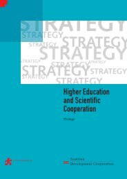 Strategy on Higher Education and Scientific Cooperation - Appear