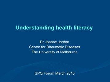 Joanne Jordan - Session 1.pdf - General Practice Queensland