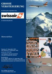 sonntag, 25. september 2005 - Liquidator Swissair