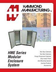 HME Series Modular Enclosure System - Hammond Mfg.