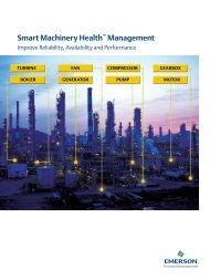 Smart Machinery Health™ Management - Emerson Process ...