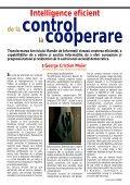 INTELLIGENCE INTELLIGENCE - Serviciul Român de Informaţii - Page 5