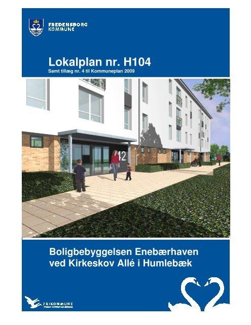 Lokalplan nr. H104 - Fredensborg Kommune