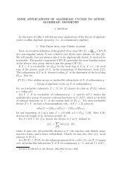 some applications of algebraic cycles to affine algebraic geometry