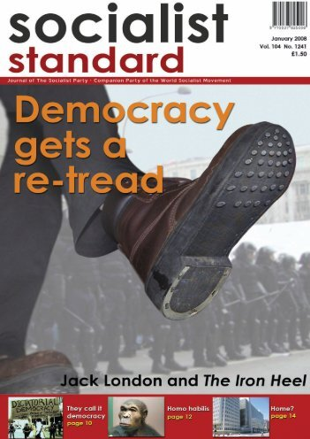 Socialist Standard January 2008 - World Socialist Movement