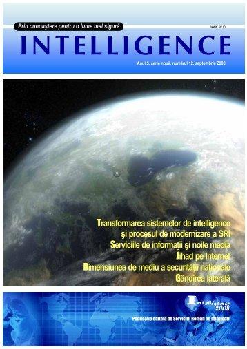 Revista Intelligence -Corel-text-site.cdr - Serviciul Român de Informaţii