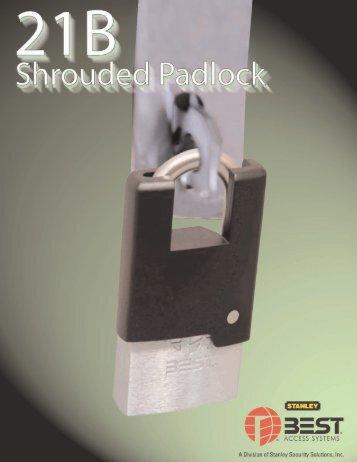 21B Shrouded Padlock - Best Access Systems