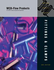 Sanitary Fittings - Technical Controls