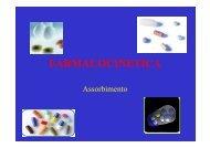 FARMACOCINETICA - Medicina e chirurgia