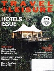 Travel & Leisure - McLaughlin Anderson Luxury Villas