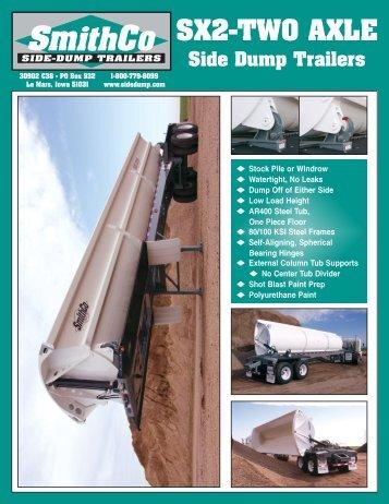 Download SX2 PDF Spec Sheet - SmithCo Side Dump