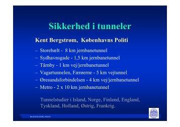 Foredrag om sikkerhed i tunneler den 27 August - Dftu.dk