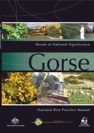 gorse handbook - Weeds Australia