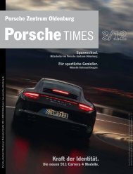 Kraft der Identität. Porsche Zentrum Oldenburg