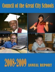 2008-2009 - Council of the Great City Schools