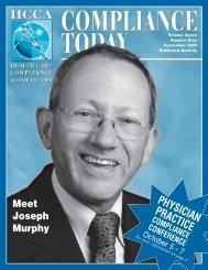 PHYSICIAN PRACTICE - Health Care Compliance Association