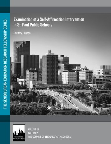 Examination of a Self-Affirmation Intervention in St. Paul Public ...