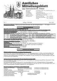 Nr. 3 Auflage 1100 Stück 20.01.2011 - St. Peter