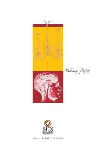 Annual Report - Sun Pharma