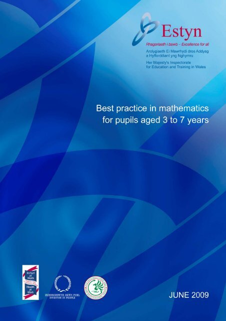 Best practice in mathematics for pupils aged 3 to 7 years - Estyn
