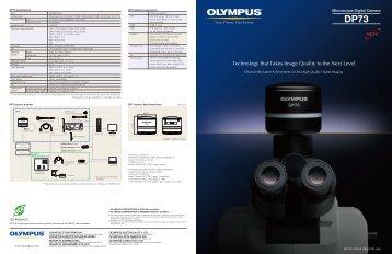 DP73 Brochure (PDF) - Olympus America