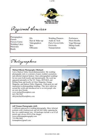 Photographers Florists Flowers Farms Wedding ... - Full Moon Resort