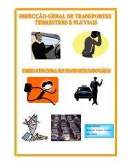 Stress ocupacional nos transportes rodoviários - Imtt