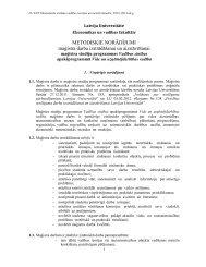 Vide un uzņēmējdarbības vadība - EVF - Latvijas Universitāte