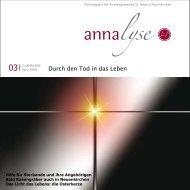 Jeder weiß, dass er sterben - St. Anna Neuenkirchen