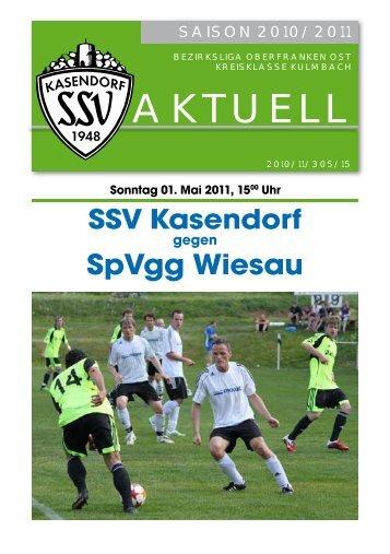 fair - SSV Kasendorf