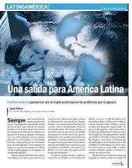 Una salida para América Latina - Revista Perspectiva