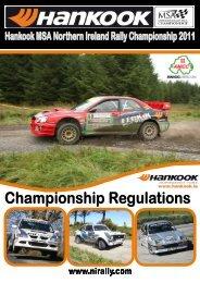 2011 Stage Rally Championship Regulations - Association of ...