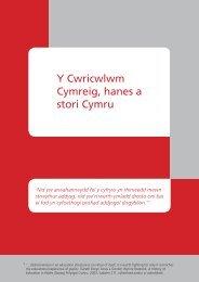 Y Cwricwlwm Cymreig, hanes a stori Cymru - Learning Wales