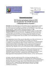 550 Windenergieanlagen decken in OWL den Strombedarf für ...