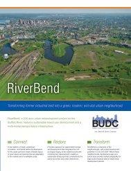 learn more about riverbend. download brochure. - Buffalo Niagara ...