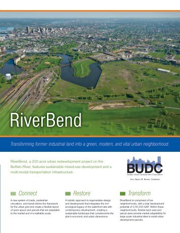 learn more about riverbend. download brochure. - Buffalo Niagara ...