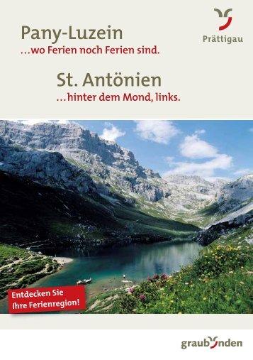 Pany-Luzein St. Antönien - St. Antönien Tourismus