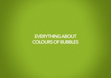 Download all you need to know about COB - Colours Of Bubbles