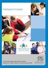Datblygiad Creadigol - Learning Wales