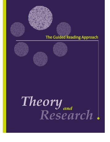 The Guided Reading Approach – Theory and ... - Learning Wales