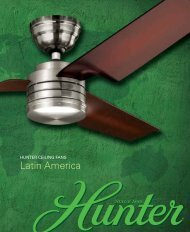 Latin America - Hunter Fan