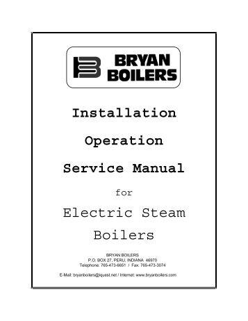 Forced draft steam boiler io manual bryan boilers electric steam boiler io manual bryan boilers swarovskicordoba Gallery