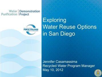 Exploring Water Reuse Options in San Diego