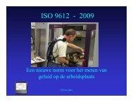 Nieuwe ISO norm voor beoordeling van schadelijk geluid op ...