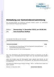 Weisung zur Gemeindeversammlung [PDF, 185 KB]