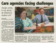 Buffalo Business First: Care agencies facing challenges - People Inc