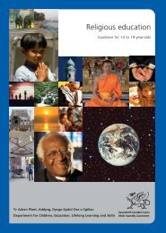 Religious education: Guidance for 14 to 19-year-olds - Digital ...