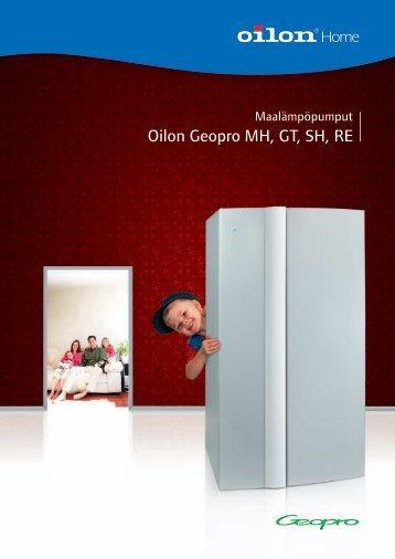 Yleisesite Geopro-maalämpöpumppu - Rakentaja.fi